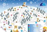 Monte Avena Mappa piste