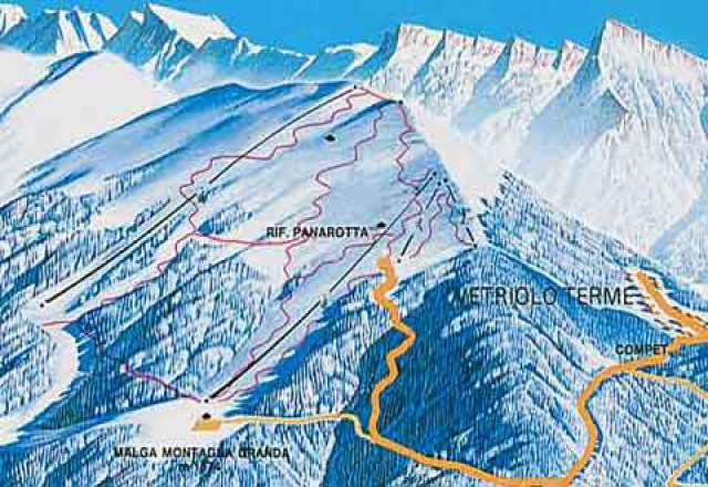 Panarotta 2002 Trail Map