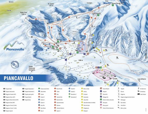 Piancavallo Trail Map
