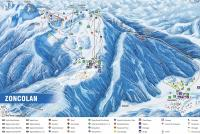 Ravascletto / Zoncolan Trail Map