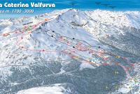 Santa Caterina Valfurva Mapa zjazdoviek