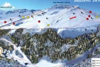 Sarnano Mappa piste