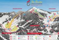 Grasgehren - Obermaiselstein Mapa de pistas