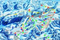 Oberstaufen - Skiarena Steibis Mapa de pistas