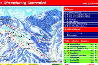 Ofterschwang - Gunzesried Plan des pistes