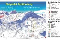 Skizentrum Pfronten - Steinach Plan des pistes