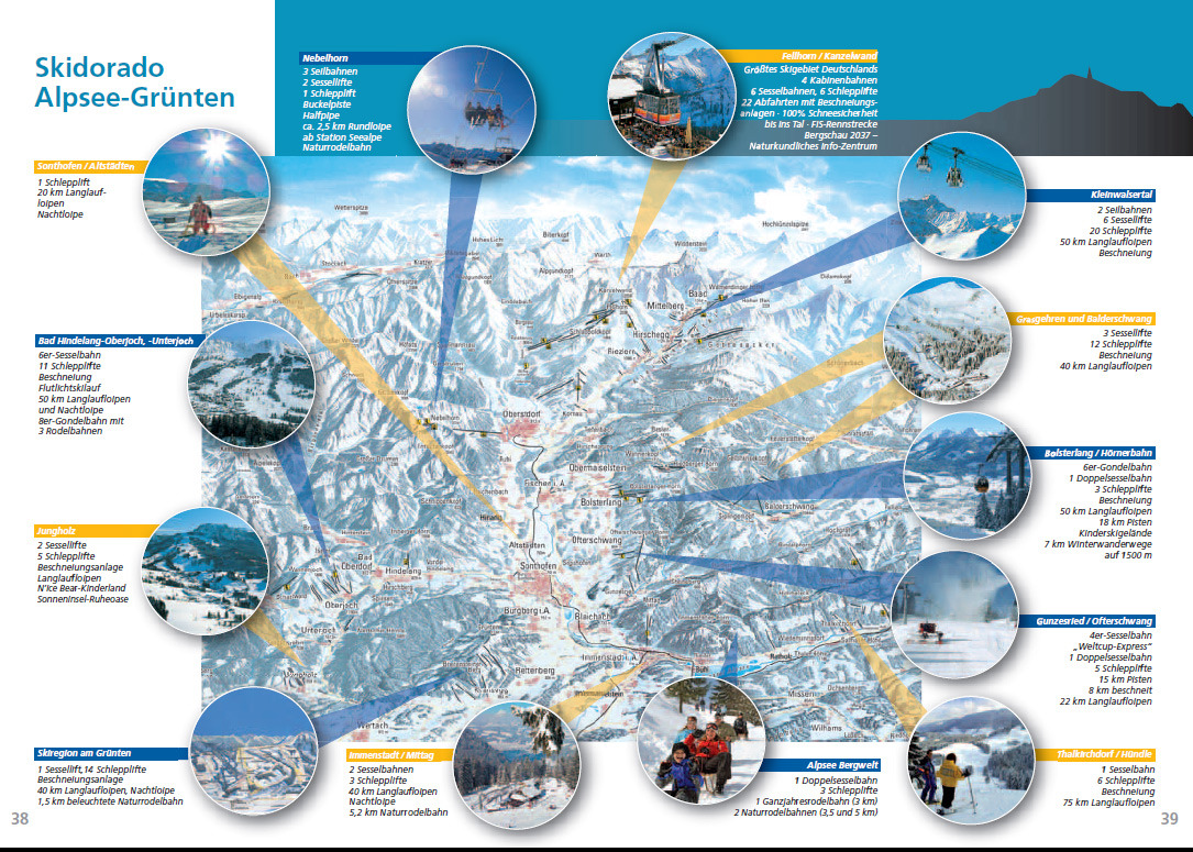 Sonthofen piste map plan of ski slopes and lifts onthesnow for Hotel in sonthofen und umgebung