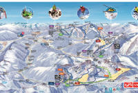Vallnord / Arcalís Piste Map