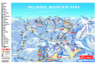 Vallnord / Pal-Arinsal Piste Map