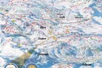 Stuben am Arlberg Trail Map