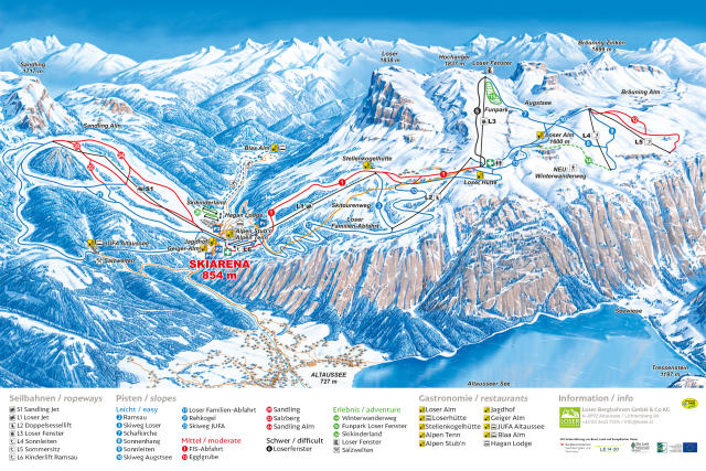 Loser - Altaussee Trail Map
