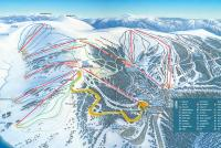 Falls Creek Alpine Resort Pistenplan