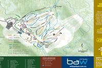 Mt. Baw Baw Alpine Resort Trail Map