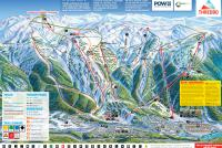 Thredbo Alpine Resort Plan des pistes