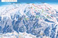 Goldeck Bergbahnen Piste Map