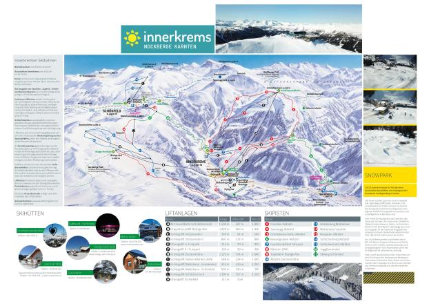 Innerkrems Trail Map