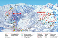 Lienzer Bergbahnen - Zettersfeld - Hochstein Mapa de pistas