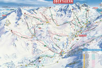 Obertauern Trail Map