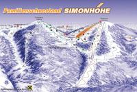 Simonhöhe Pistekaart