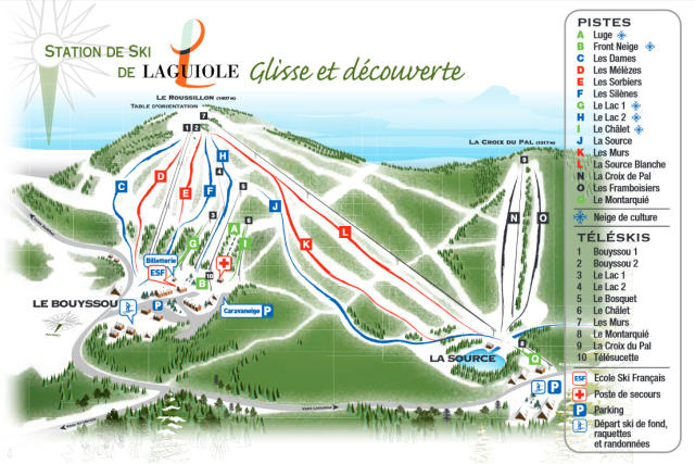 Laguiole Trail Map