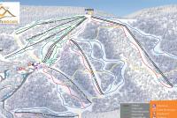 Prat Peyrot - Mont Aigoual Mappa piste