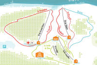 Prabouré Piste Map