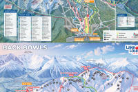 Lake Louise Plan des pistes