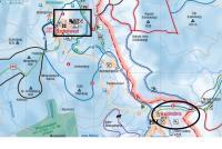 Haidmühle - Bischofsreut - Frauenberg Plan des pistes