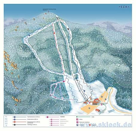 Skilift Riedlberg Trail Map