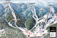 Bear Mountain Mappa piste