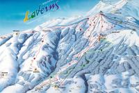 Laterns - Gapfohl Piste Map