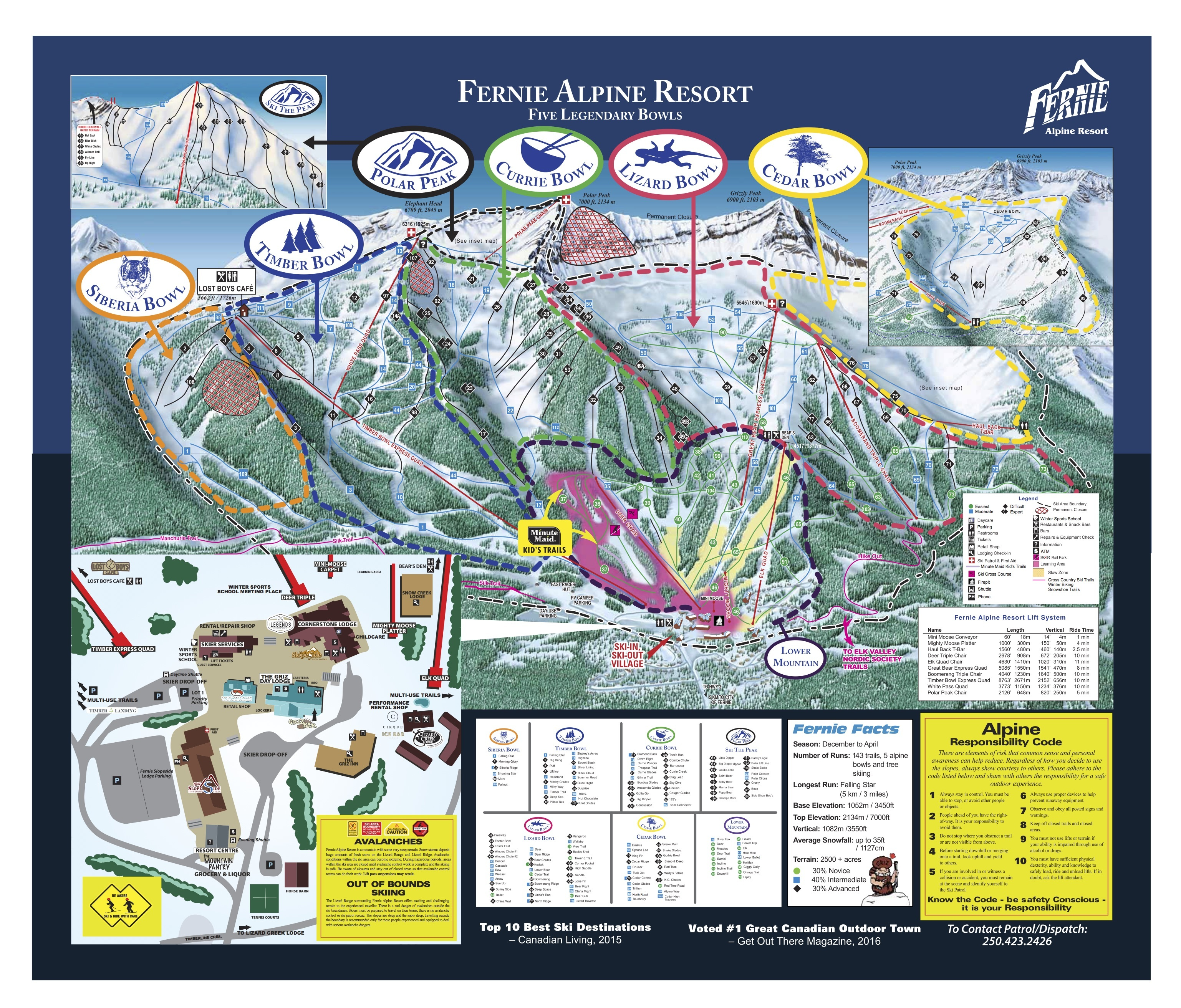 """Image result for fernie trail map"""""""