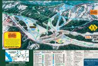 Manning Park Resort Mappa piste