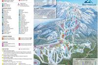 Mt Seymour Mapa zjazdoviek