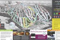 Mt Washington Alpine Resort Mapa zjazdoviek