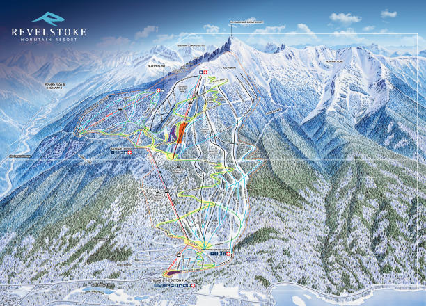 Revelstoke Trail Map