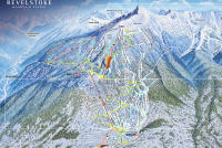 Revelstoke Mountain Resort Plan des pistes