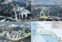 Whitewater Ski Resort Mappa piste