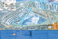 Ski China Peak Mappa piste