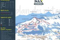 Nax Piste Map