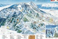 Crested Butte Mountain Resort Mapa tras