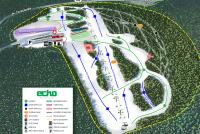 Echo Mountain Mappa piste