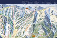 Monarch Mountain Plan des pistes