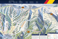 Monarch Mountain Mapa tras