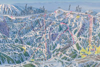 Wolf Creek Ski Area Mappa piste