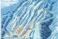 Mohawk Mountain Plan des pistes