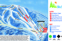 Ski Sundown Mappa piste