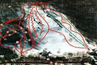 Woodbury Ski Area Plan des pistes