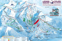 La Tania Trail Map