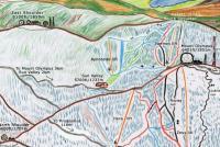Mount Olympus Trail Map
